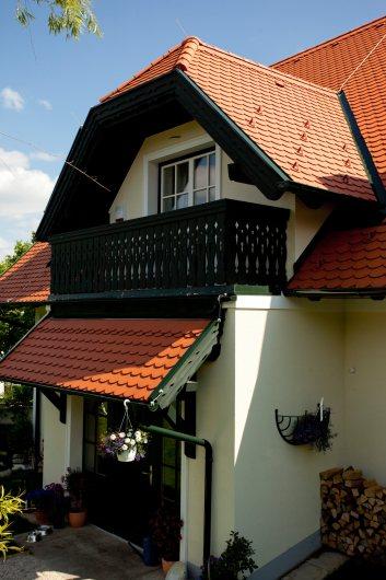 Vordachanschluss bei Balkon, Giebel – Gaube, usw.