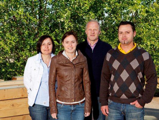Porträt der Familie Kreiseder